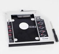 2nd HDD SSD Hard Drive Caddy Adapter for Lenovo ThinkPad T410 T410s T410si T410i