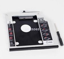 9.5mm Bezel SATA 2nd HD HDD Hard Drive caddy bay for IBM T400s T500 T410 43N3412