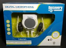 ISOUNDS Digital Microphone Interacts W/ (MP3,Ipod,CD,Zune) Discovery Channel NIB