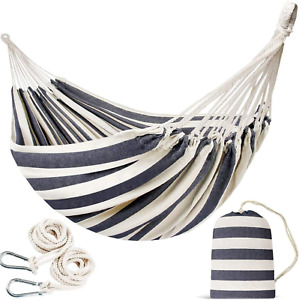 INNO STAGE Double Portable Hammock - Patio Hammock Two Person Hanging Camping -