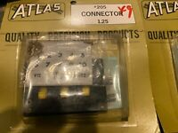 Atlas 205 3 Slide Switch Connector New in Package HO Scale Railroad Vintage