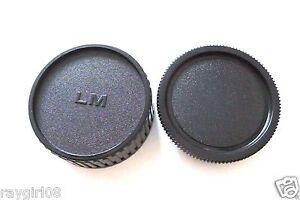 Camera Body + Rear Lens Cap for Lecia M Mount New