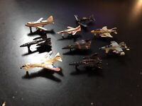 MICRO MACHINES - AIRCRAFT COLLECTION LOT (9) - 1987 GALOOB NO. 6400 VINTAGE