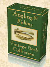260 Vintage Books Angling Fishing Fly Coarse Tackle Game Reel Trout Boat DVD 234