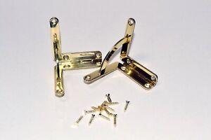 Quadrant Hinges - Solid Brass - Premium - Prokraft QQH B/C