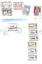 [OP9546] Mauritania lot of stamps on 12 pages