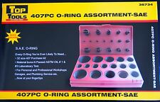 UNIVERSAL 407 Piece Industrial Rubber O Ring Assortment Kit - SAE /  Imperial