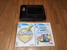 Wii uDraw Pictionary & Studio Instant Artist Game Tablet Bundle Wii U Compatible