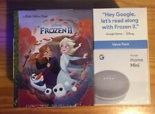 Sealed NEW Google Home Mini Value Pack Frozen 2 (TWO IN STOCK)