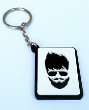 Popular Beard and Moustache Guys Key Ring Key Chain Gift - Punjabi Mush Dahri