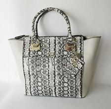 GUESS® Lake Shore Carryal Tote, Python print Handbag, MSRP $118