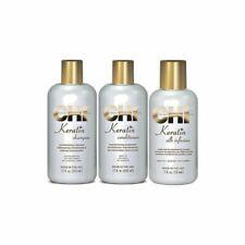 CHI Farouk Keratin 3-tlg. Set.: Shampoo + Conditioner + Silk Infusion