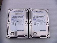 "2 X SAMSUNG SPINPOINT HD082GJ 80GB 3.5"" SATA HARD DRIVE`S"