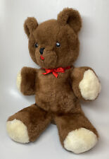 "Vintage EDEN Musical Wind Up Teddy Bear ~ Plays Lullaby ~ Works 15"""