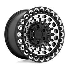 17 Inch Black Wheels Rims Lifted Chevy 2500 3500 Dodge Ram Truck 17x95 8 Lug