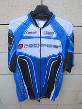 Maillot cycliste ROCKRIDER DECATHLON cycling shirt jersey mountain bleu XL