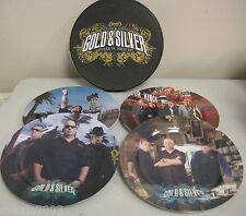 Pawn Stars Collectible Plate Set - Gold & Silver Pawn Shop