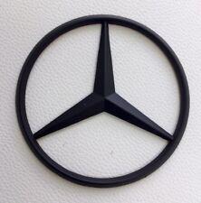 Mercedes Benz OEM ML GL E Class Trunk Star Black Emblem 10-15 E 250 350 400 550