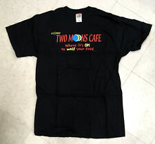 ELFQUEST Two Moons Cafe t-shirt 1990s new-old stock X-LARGE