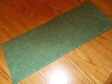 Handmade bathroom decor MINI table runner Toilet tank topper leaves green