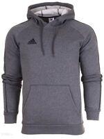 Adidas Core 18 Mens Hoodie Fleece Sweatshirt Hood Grey