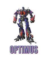 Transformer Optimus 5X7 T-shirt Iron on transfer