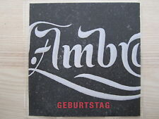 CD / WOLFGANG AMBROS / PROMO / MUSTER / TOP RARITÄT / AUSTROPOP /