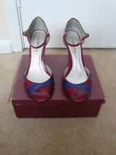 Shoes, Wedge, Multi coloured, Size UK 7, Casual/Smart