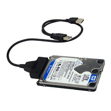 USB3.0+2.0 to SATA 22Pin Cable for 2.5inch HDD Hard Drive Solid State Drive AF