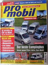 PRO MOBIL 6-08+ADRIA TWIN+EURA MOBIL+PÖSSL 2WIN+HYMER CAR 322+KNAUS+CHAUSSON FLA