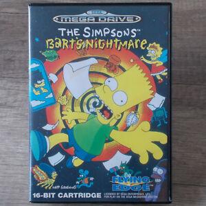 Sega Mega Drive ► The Simpsons - Bart´s Nightmare ◄ komplett in OVP