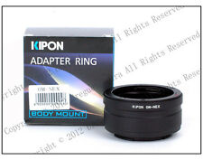 Kipon Adapter Olympus OM Lens to Sony E Mount NEX A7 A7R NEX-5T 7 A5000 A7S