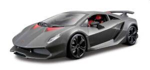 Lamborghini Sesto Elemento in matt grey 1:24 scale model from Bburago