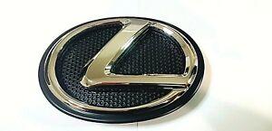FITS Lexus Emblem CHROME FRONT IS250 IS200T GS350 RX350 ES350 LS460 NX Grille