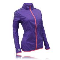 Higher State Lightweight Womens Pink Purple Running Sports Zip Jacket Top