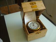 Russian marine chronometer in box KIROVA #17797 (box Oak)