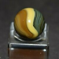 "Vintage Rare Multi-Color Master Sunburst Marble, Shooter Size, .625=5/8"" Mint!"