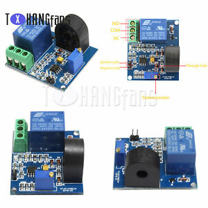 5A Over-current Protection Sensor module ZMCT103C 5/12/24V  Relay AC ATF