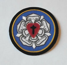 Lutheran Luther Protestant Christian Seal Rose Church Cross Vestment Patch Heart