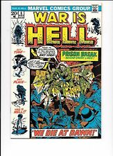 War Is Hell #6 November 1973 Marvel Comics