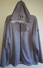 Under Armour Men's XXL 2X MK-1 Terry Zip Hoodie GRAY $60 1320193 NEW #642618