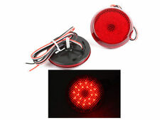 *Red LED Bumper Reflector Tail Brake Light For Toyota Sienna Corolla Scion xB iQ