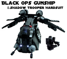 PREORDER Custom Lego Star War Black OPs Republic Gunship 7676 7163 75021 75046