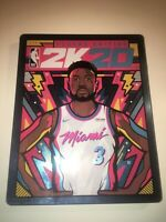 Nba 2k20-steelbook legend edition by van orton design (very rare , new
