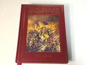 Tamurkhan The Throne of Chaos Book Ex Condition Warhammer Forge World Fantasy