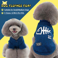 Winter Dog Clothes Puppy Pet Cat Sweater Jacket Coat For Dogs Chihuahu