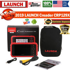 Genuine LAUNCH CRP129X OBDII Scanner Engine ABS SRS Diagnostic Tool TPMS Reset