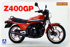 Aoshima 49150 Bike 27 Kawasaki Z400Gp 1982 1/12 scale kit
