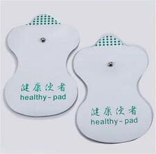 2 Pcs  Electrode Pads For Tens Acupuncture Digital Therapy Massager LJ LJ