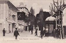 * SESTRI PONENTE - Piazza Centurione, Giornalaio Cartoleria 1906